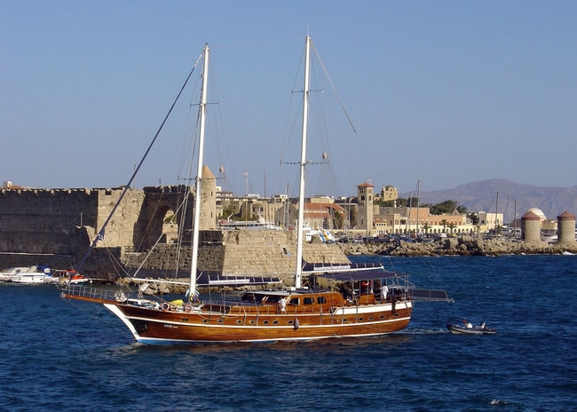 gullet boat
