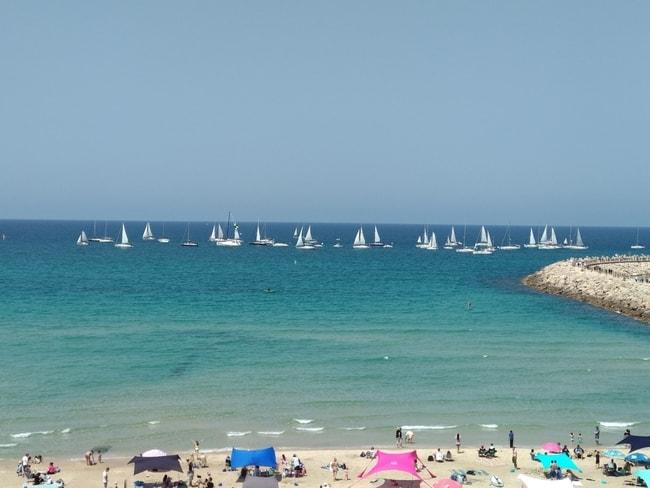 Flotilla sailing holiday