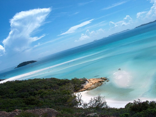 Whether in the Whitsundays