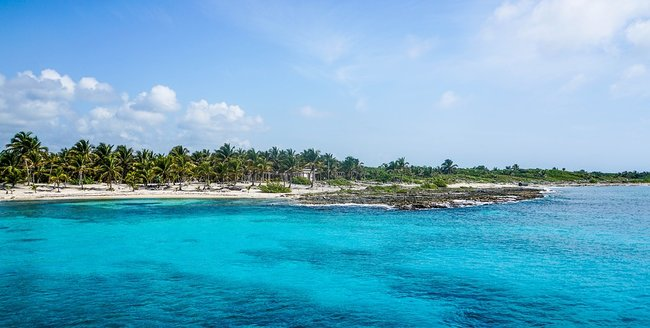 Cozumel snorkeling place in Mexico