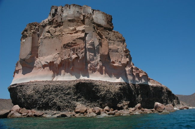 La Paz snorkeling spot in Mexico