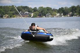 Tubing while boating