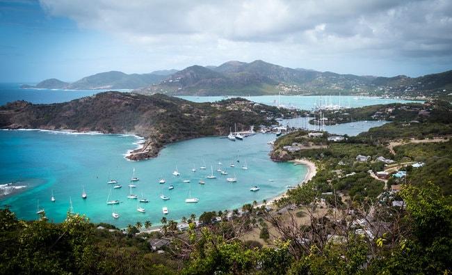 Antigua charter itinerary