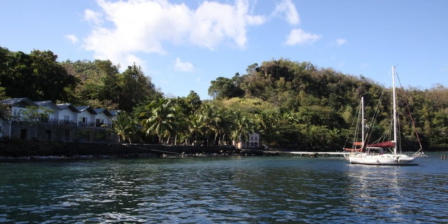 Wallilabou Bay St Lucia