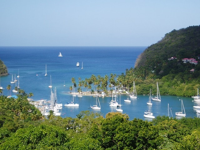 St Lucia Sailing Itinerary