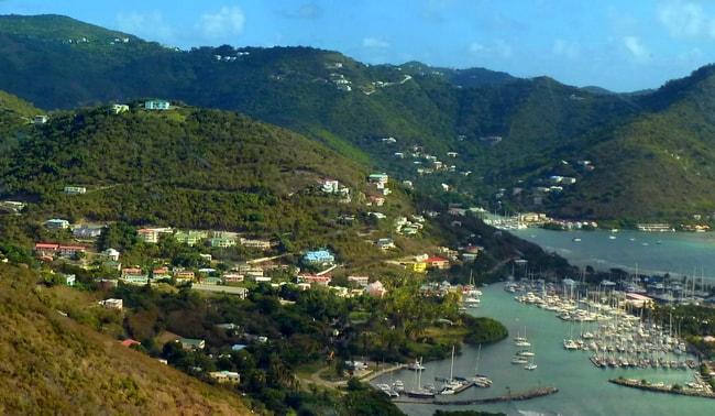 Nany Cay BVI Bareboat Itinerary