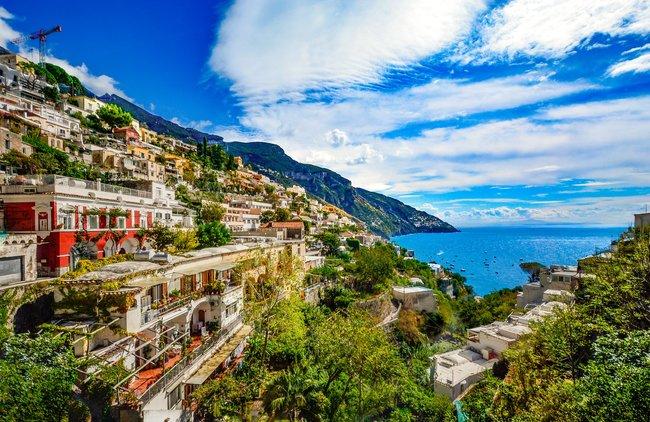 Amalfi Coast Italy on a private yacht charter