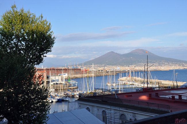 Naples Italy on a private yacht charter