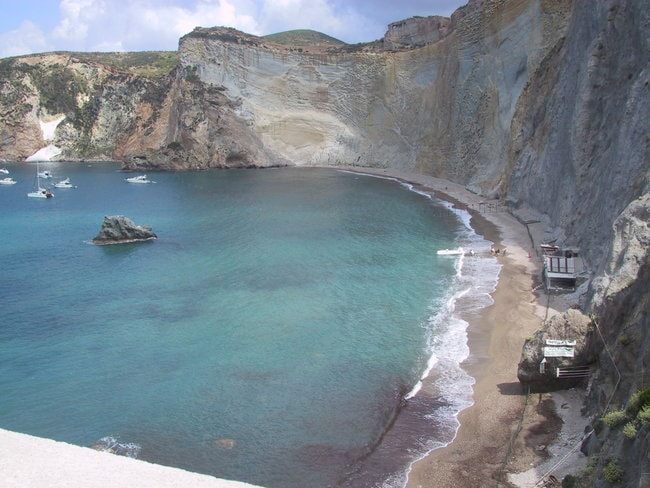 Ponza Italy on a private yacht charter