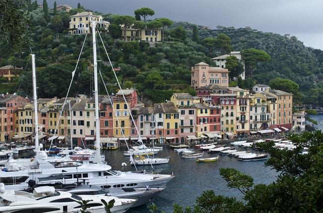 Portofino Italy on a private yacht charter