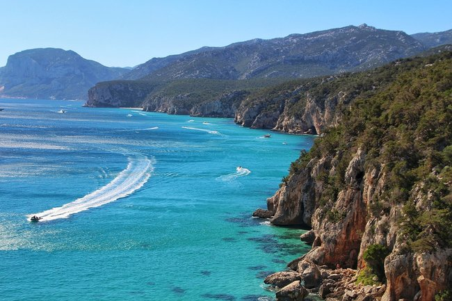 Sardinia Italy on a private yacht charter