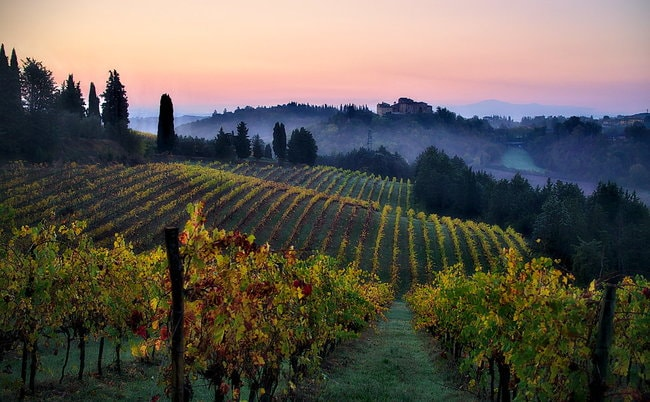 Tuscany Italy on a private yacht charter