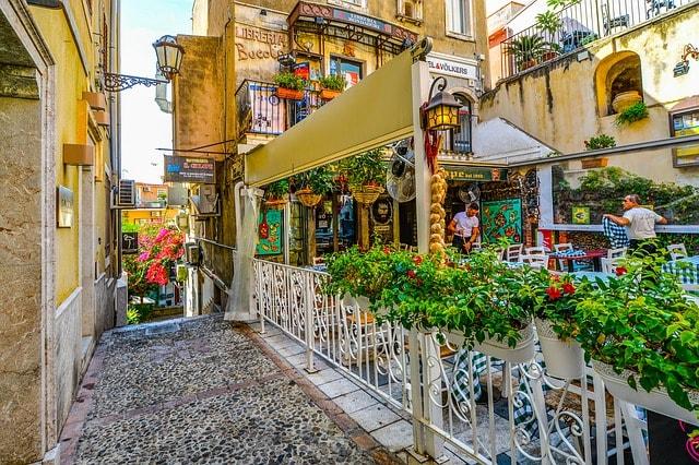 Taormina Sicily Sailing Itinerary