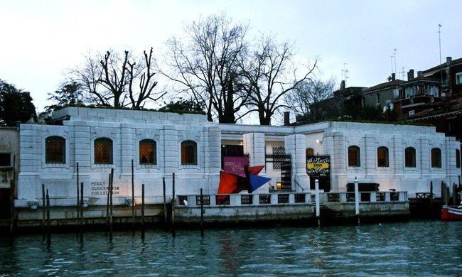 Peggy. Guggenheim Collection Gondola ride in Venice
