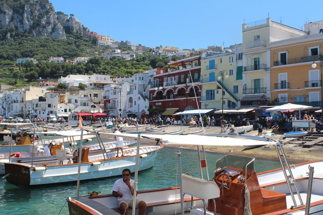 Get around Capri by Boat