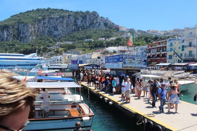 Capri tickets transportation