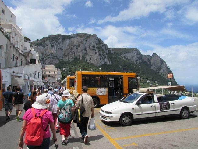 Get around Capri by Bus