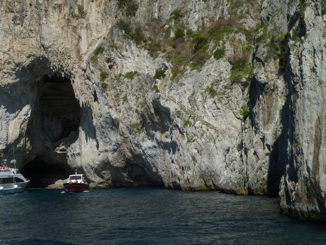 Boat tour to White Grotto in Capri
