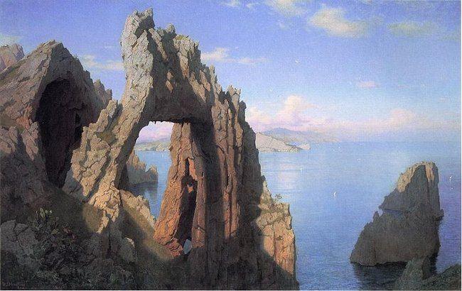 Natural Arch Capri boat tour