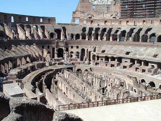 Colosseum Underground with Arena Floor Access Guided Tour and Roman Forum