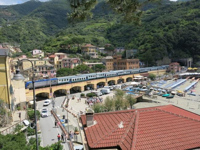 Monterrosso Train Station Cinque Terre