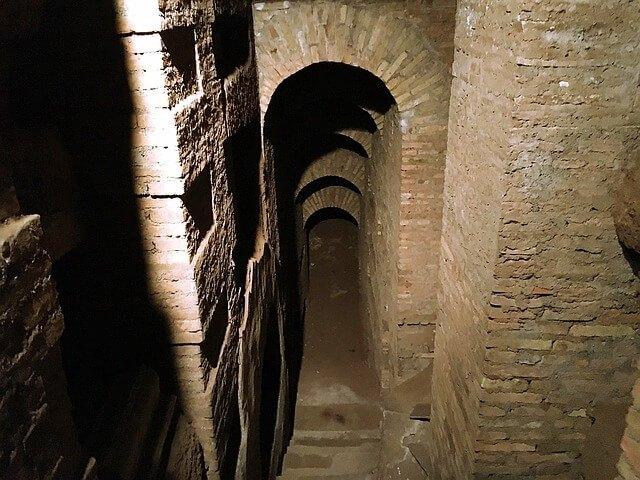 Roman Catacomb in Rome