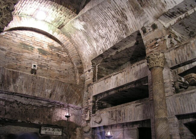 The Catacombs Of San Callisto (Callixtus)