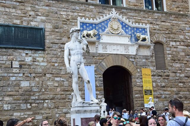 Visiting Florence in the summer