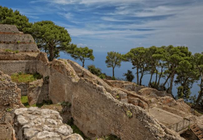 Villa Jovis Historical Capri