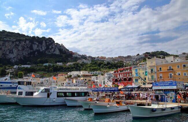 Marina Grande Beach Capri Italy