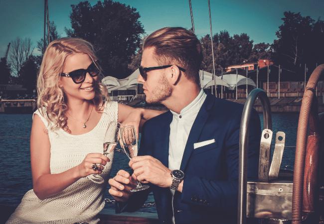 Dress code for men on a boat wedding