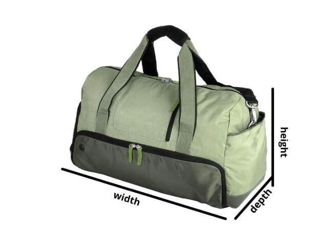 How to arrange a Duffel Bag